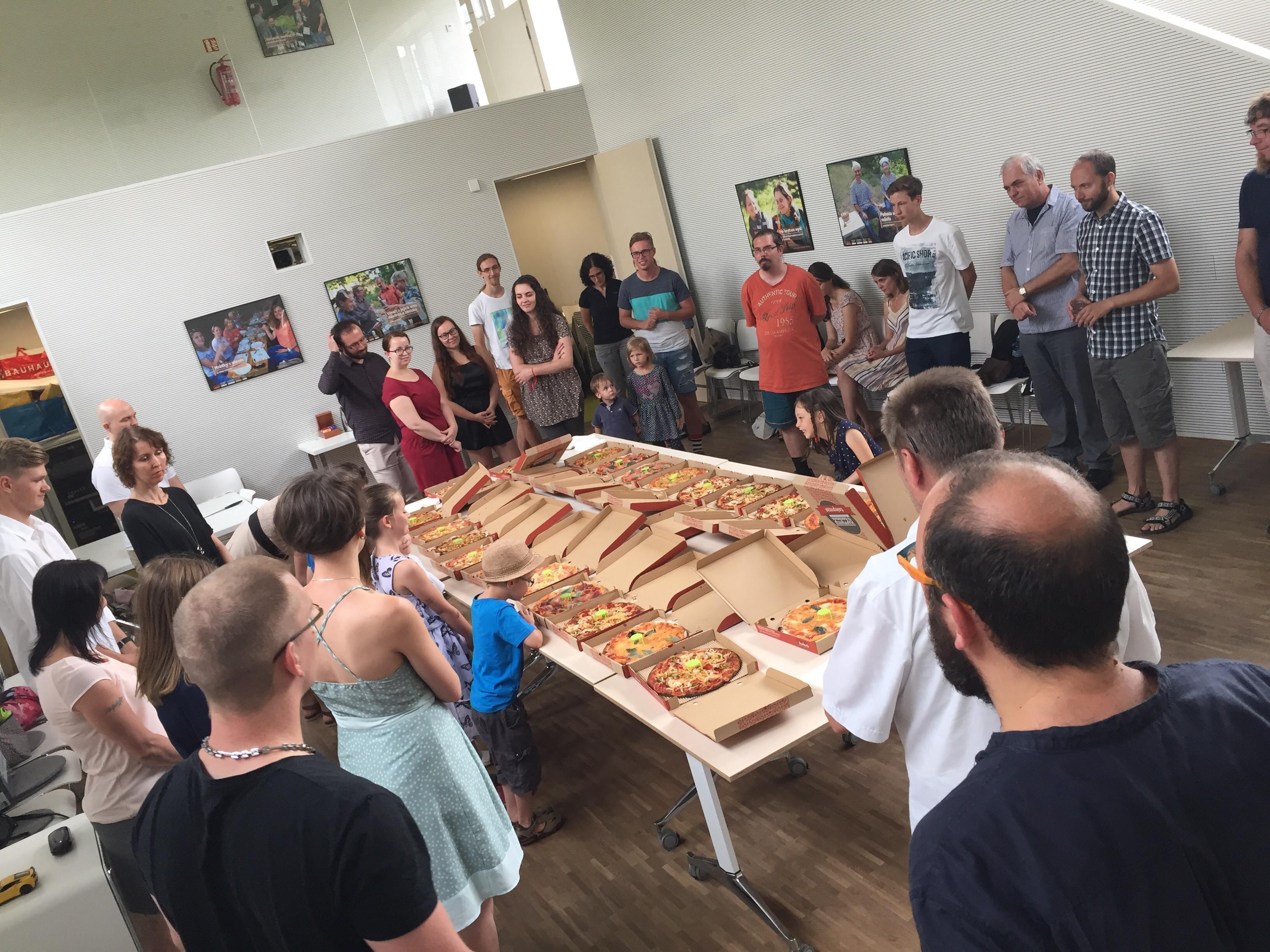 Letní bohoslužba a oběd